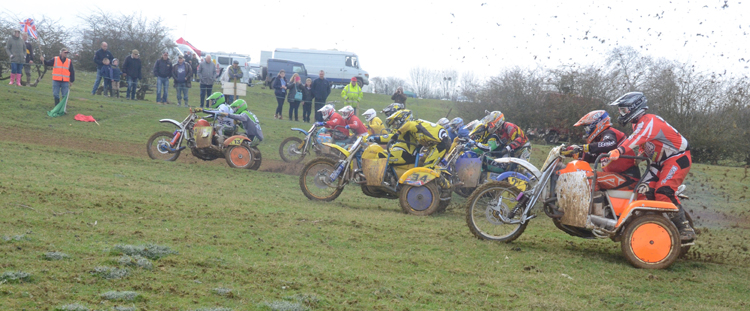 Northampton Classic Scramble Sproxton April 2016 www.classicdirtbikerider.com Photos by Eric Miles (46)