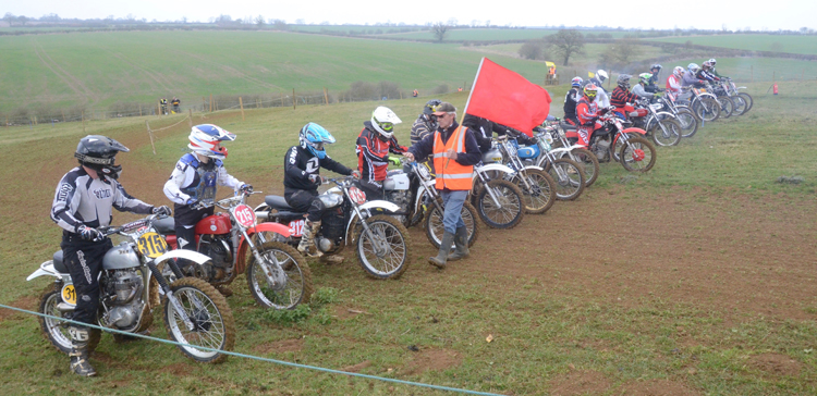 Northampton Classic Scramble Sproxton April 2016 www.classicdirtbikerider.com Photos by Eric Miles (47)