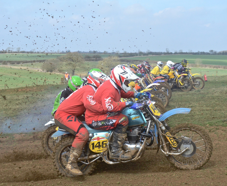 Northampton Classic Scramble Sproxton April 2016 www.classicdirtbikerider.com Photos by Eric Miles (49)