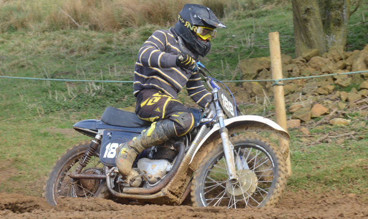 Northampton Classic Scramble Sproxton April 2016 www.classicdirtbikerider.com Photos by Eric Miles (6)