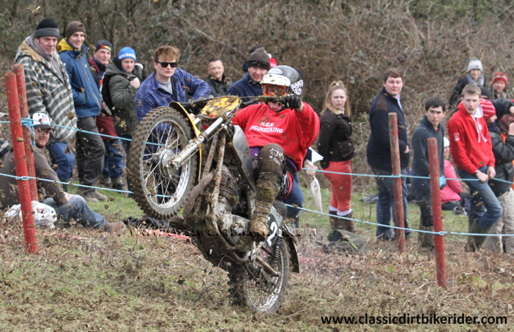 Red Marley Hill Climb 2016 Photos Pictures Report Results www.classicdirtbikerider.com 134 Arthur Browning 1965 500 JAWA 4
