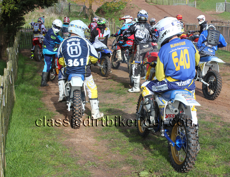classicdirtbikerider.com Round 2 National Twinshock Championship 2016 Hawkstone Park April 30th (1)