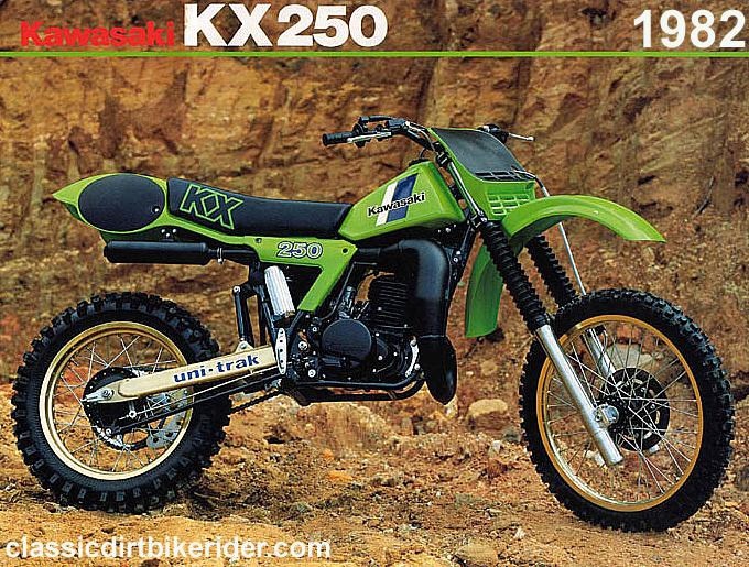 KAWASAKI KX250 1980-89 SPOTTERS GUIDE ...