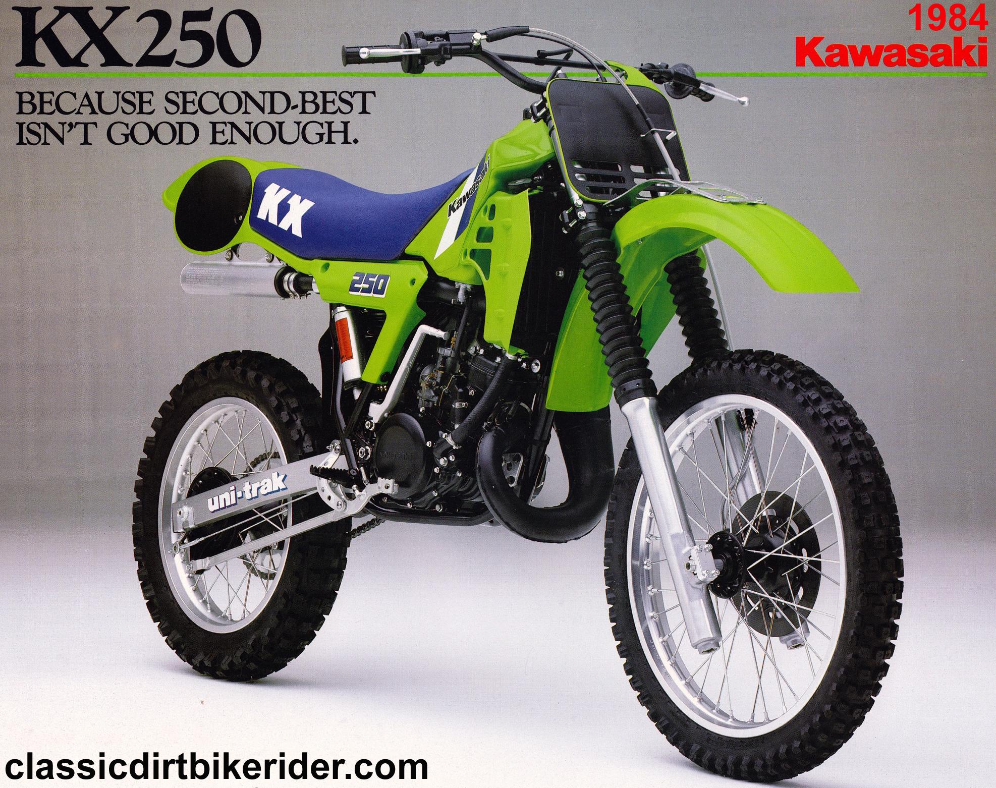 1984 KAWASAKI KX250 classicdirtbikerider..