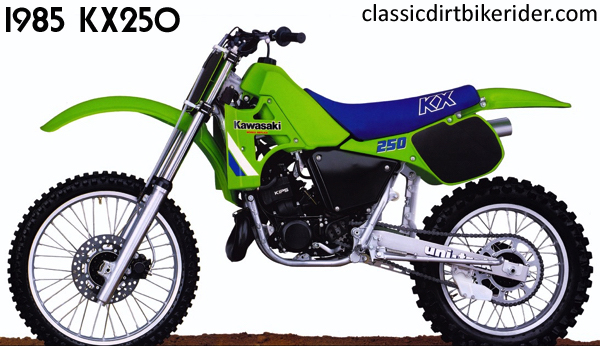 1985 KAWASAKI KX250 classicdirtbikerider.com