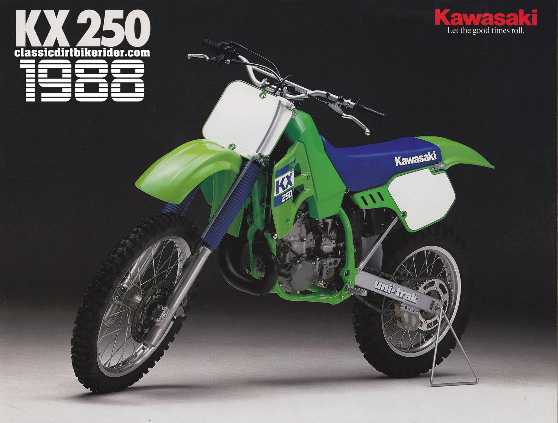 1988 KAWASAKI KX250 classicdirtbikerider.com 15