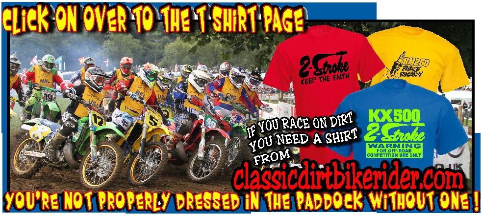 vintage twinshock Evo MOTOCROSS T-SHIRTS classicdirtbikerider.com